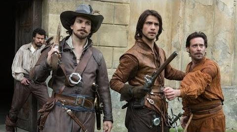Athos Confronts His Past - THE MUSKETEERS New Episode SUN JULY 6 BBC America