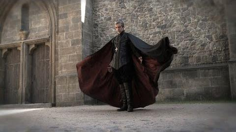 Peter Capaldi's heavy leather costume - The Musketeers - BBC One