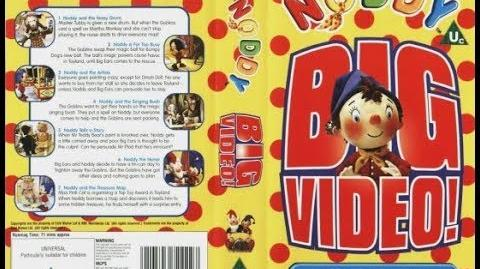 Video - Noddy's Big Video VHS (2001) | BBC Video (UK) Wiki