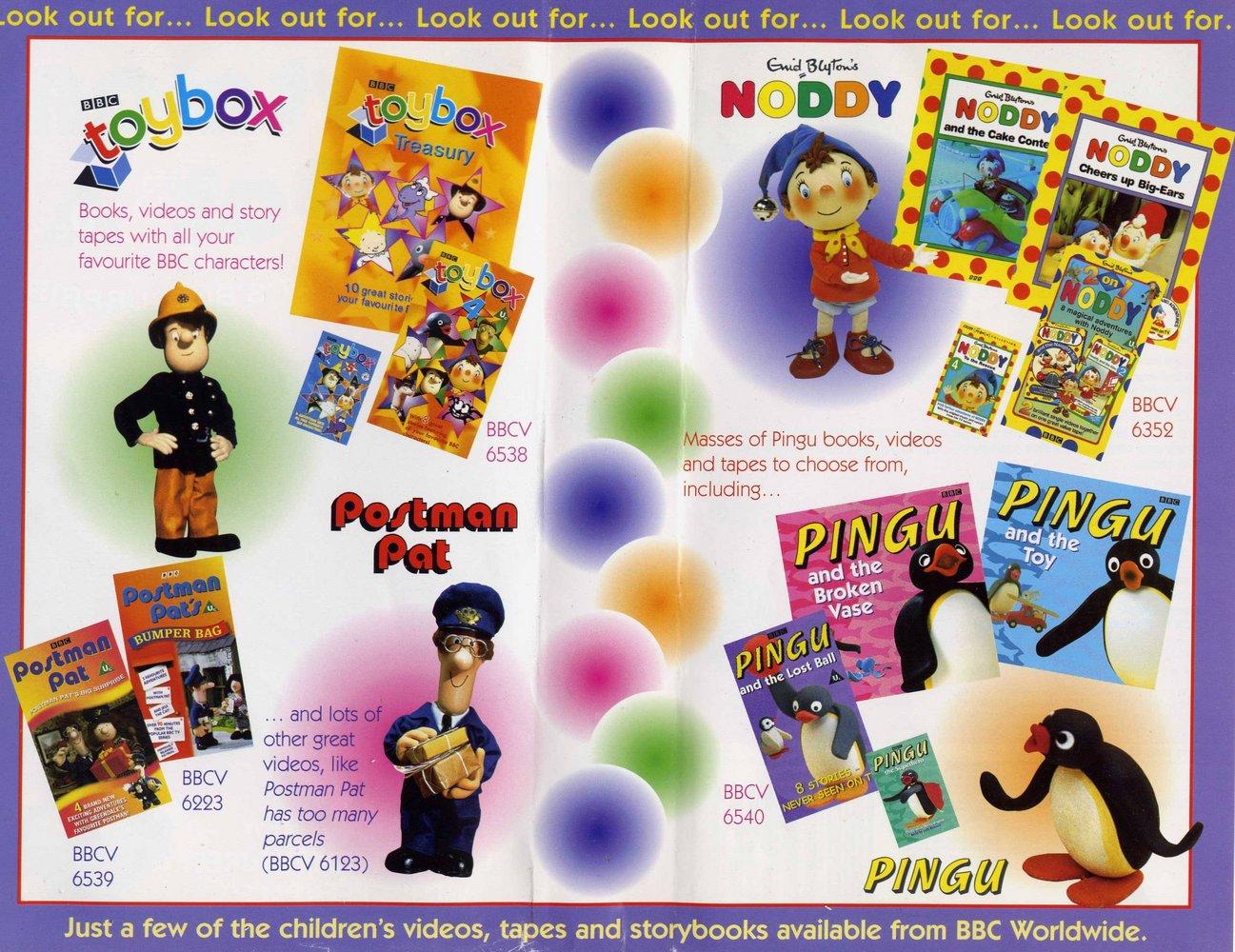 Bbc Children S Inlay Promo 1999 Bbc Video Uk Wiki