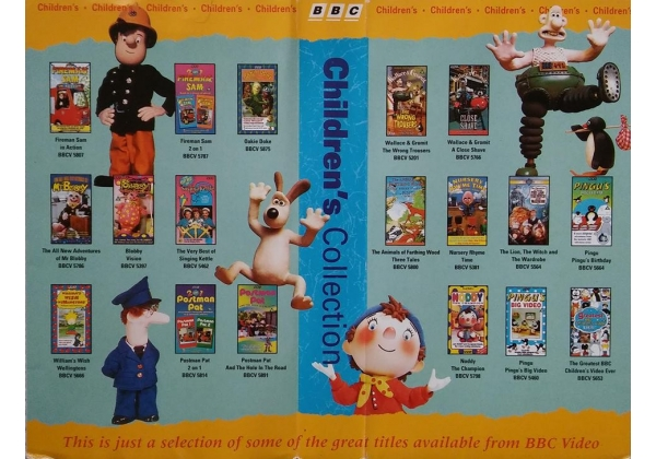 Bbc Children S Inlay Promo 1996 Bbc Video Uk Wiki Fandom