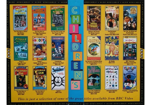 Bbc Children S Inlay Promo 1994 Bbc Video Uk Wiki Fandom