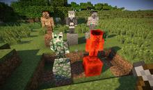 Grid Statues