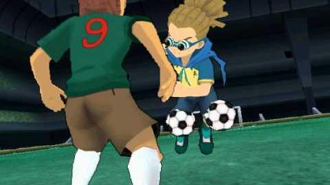 Inazuma Eleven Strikers 2012 Xtreme Illusion Ball