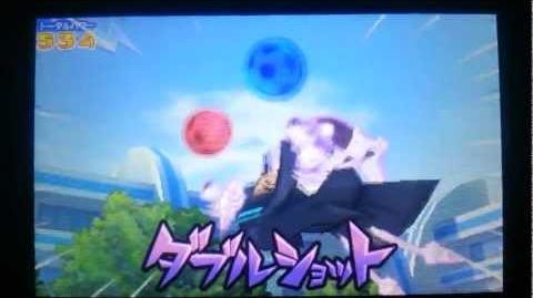 Inazuma Eleven Go Neppuu Raimei - Double Shot