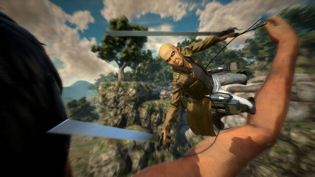 Attack on Titan's Cadet Corps Instructor Keith Sadies in Combat