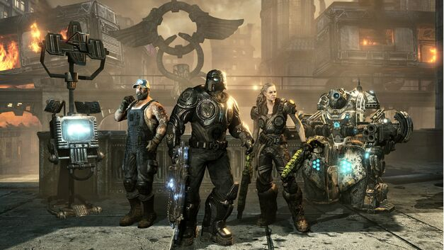 Gears of War Horde Mode Blooddrive