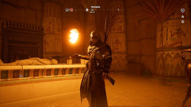 Assassin's Creed Origins tombs