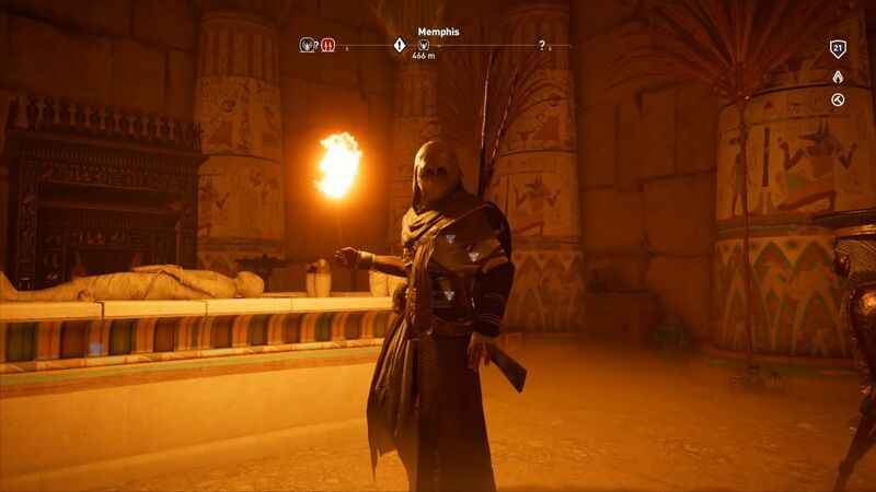 Assassin's Creed Origins tombs