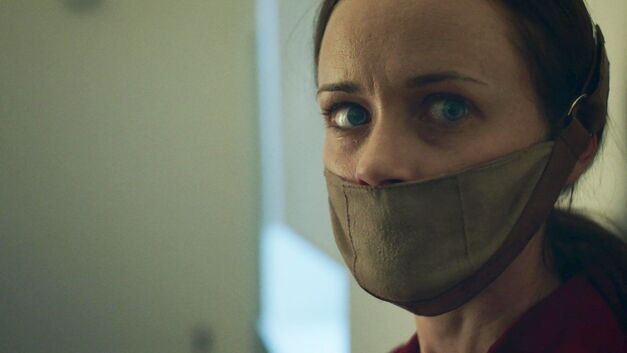Alexis Bledel in Hulu's 'The Handmaid's Tale'