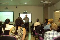 Exemplo uso sala multimídia