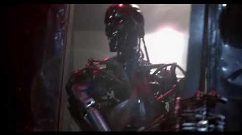 Terminator T800 Robot movement (Terminator 1)