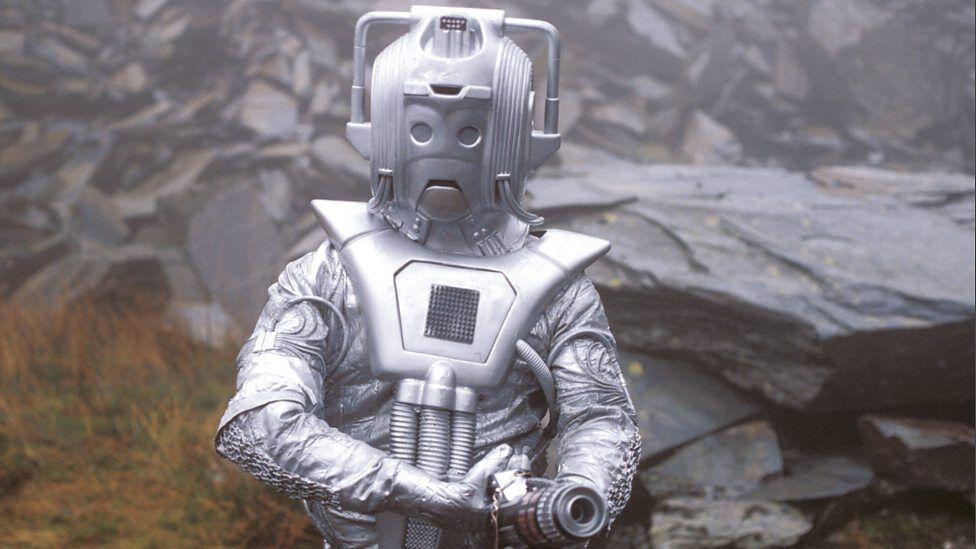 Cyberman in The Five Doctors
