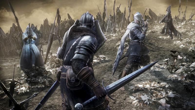Dark Souls III Ashes Of Ariandel Art And Screenshots Revealed