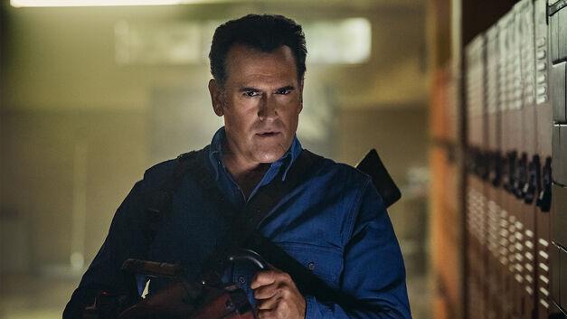 Ash Williams in Ash vs Evil Dead Season 3