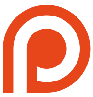 Patreon navigation logo mini orange