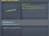 Mk83 JDAM Bomb