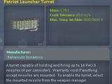 Patriot Missile Launcher