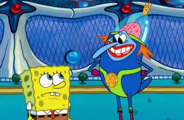 SpongeBob Squarepants Bowie Atlantis