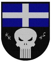Wappen leinwand