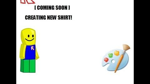 Creating Shirt!