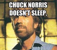 Chuck25 Sleep