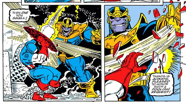captain marvel thanos comics
