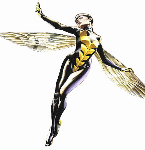 The Wasp comic version (Janet van Dyne)