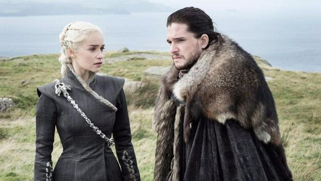 daenerys targaryen jon snow game of thrones