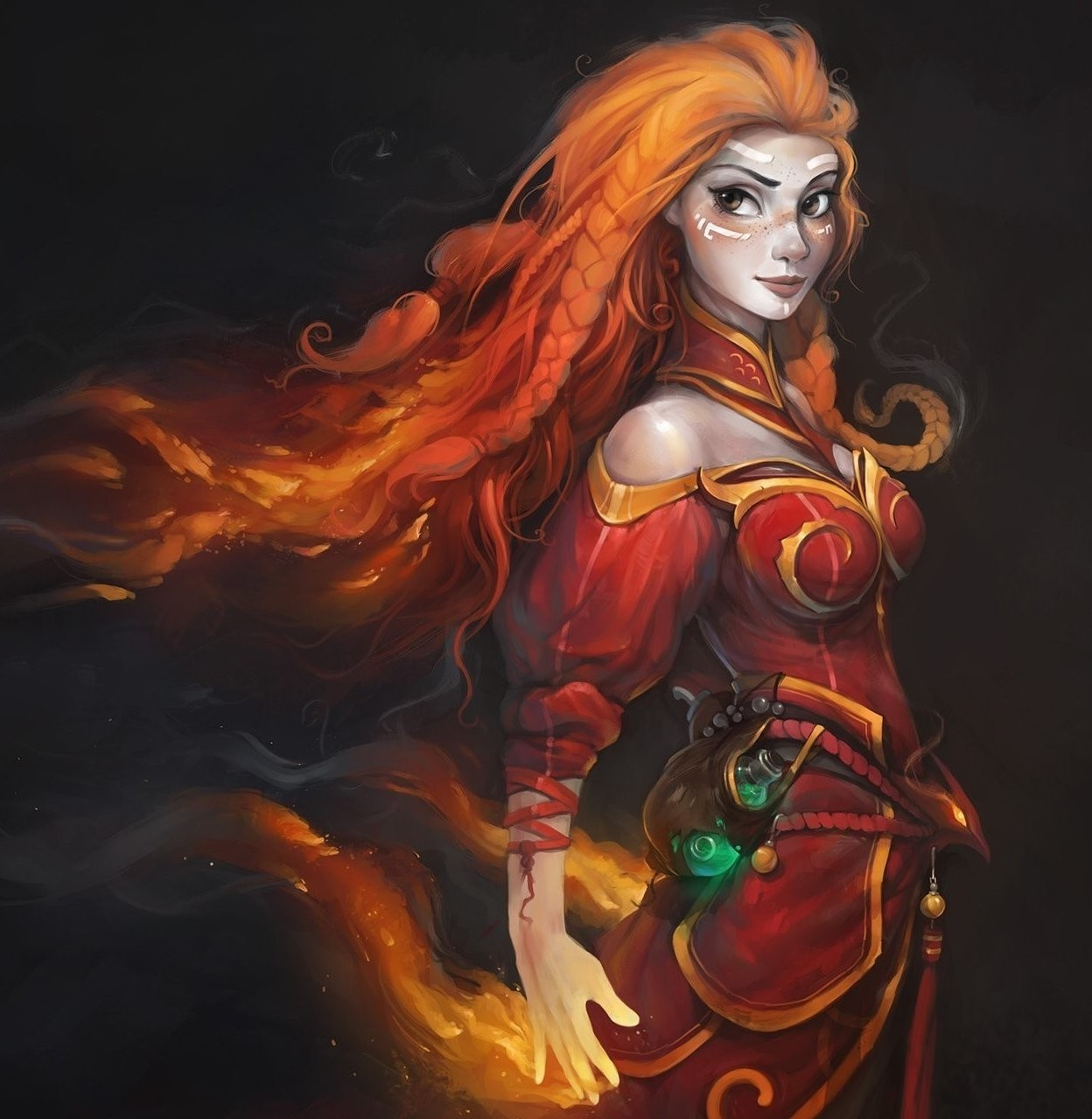 Lina Inverse - who is this History of the hero