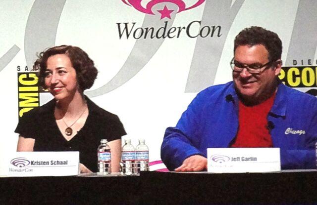 File:Kristen Schaal, Jeff Garlin, Toy Story 3, WonderCon 2010.jpg