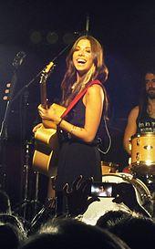 Christina Perri concert in 2012 (cropped)
