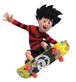 Dennis skateboarding (Unleashed)