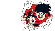 Dennis and Gnasher break out
