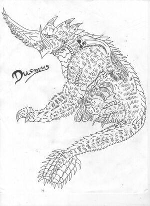 Dusmus the enforcer by omegabearbeast-d6pkm7y
