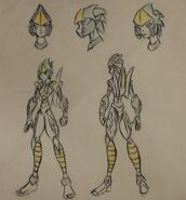 Wind-Rider character reference fully colored