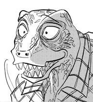Rostro de Gosha (Manga)