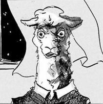 Primer diseño de Tem (Manga)