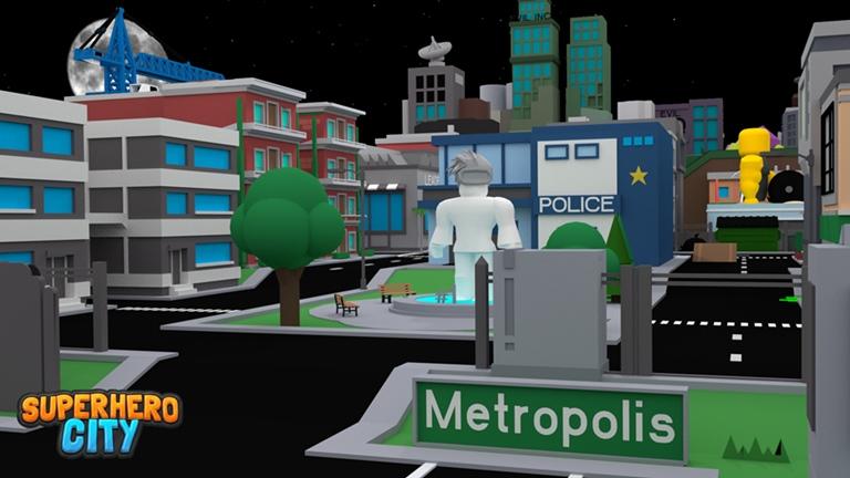 Superhero City Roblox Wiki