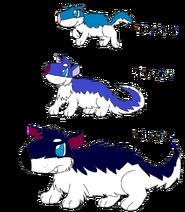 Tuskpup, Tuskice, and Tuskier