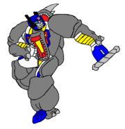 Beast Wars Topspin