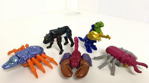 Transformers Beast Wars - McDonald's Happy Meal Toys