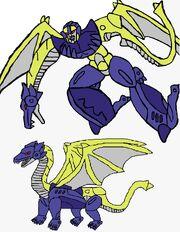 Predacon Diabla in Both Modes