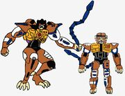 Predacon Browning in Both Modes