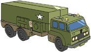 Bulkhead g1 all-terrain truck trailer