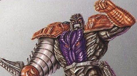 Transformers Takara Beast Wars Metals Transmetal Megatron Review