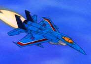 Thundercracker in Vehicle Mode