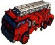 Inferno Mitsubishi Fuso Fire Truck Mode