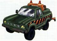 Hoist Toyota Hilux Tow Truck Mode