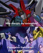 Coronation Starscream